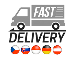 Delivery to Czech Republic, Slovak Republic, Poland, Germany, Austria