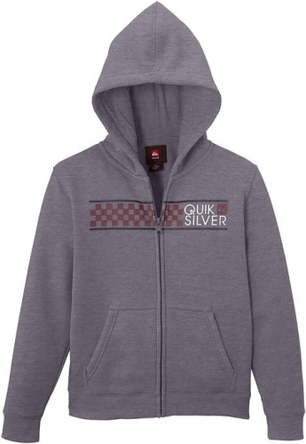 Mikina Quiksilver Hood Zib God 024 kpwh medium grey heather 2014/15 dětská