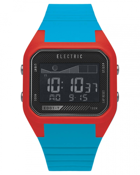 Hodinky Electric ED01-T PU red/bright blue 2014/15