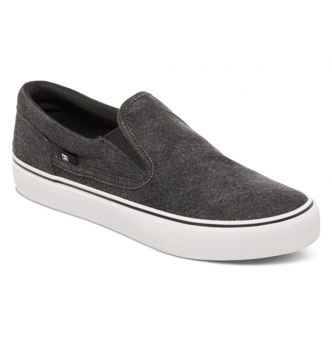 Boty Dc Trase Slip-On Tx Le washed out black 2016/17