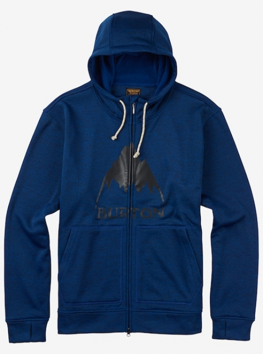 Mikina Burton Oak Full-Zip true blue heather 2017