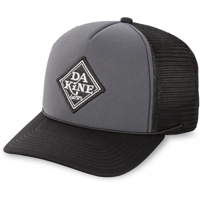 Čepice Dakine Lock Down Trucker black/charcoal 2017