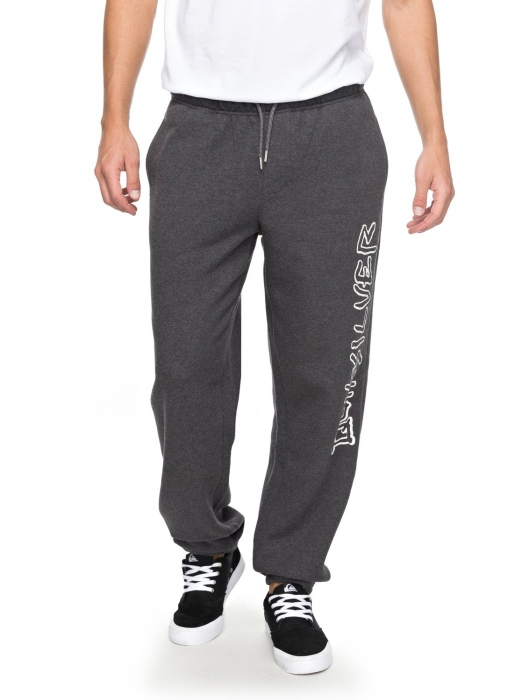 Tepláky Quiksilver Tracksuit Bottoms 137 krph dark grey heather 2018