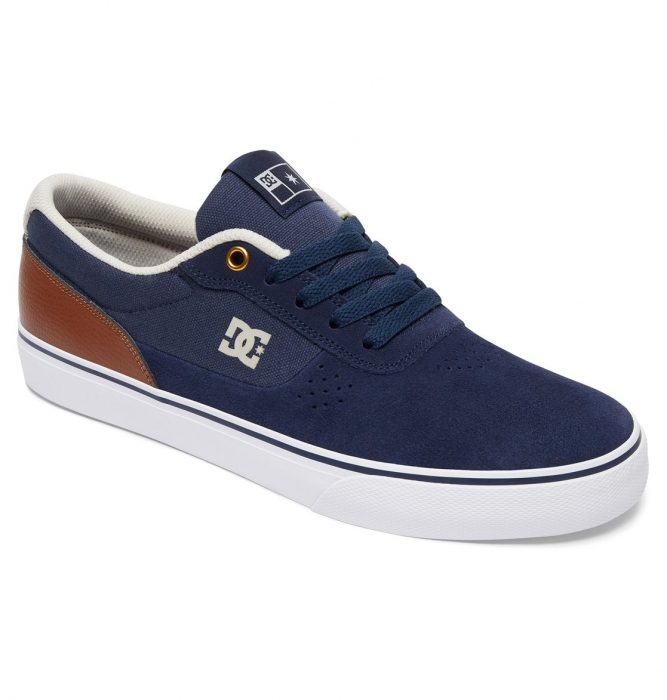 Boty Dc Switch S navy/dark chocolate 2017