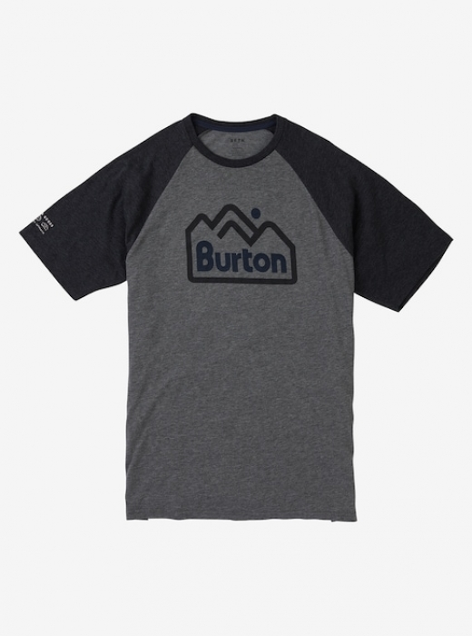 Triko Burton Mountain Jack Active gray heather 2018