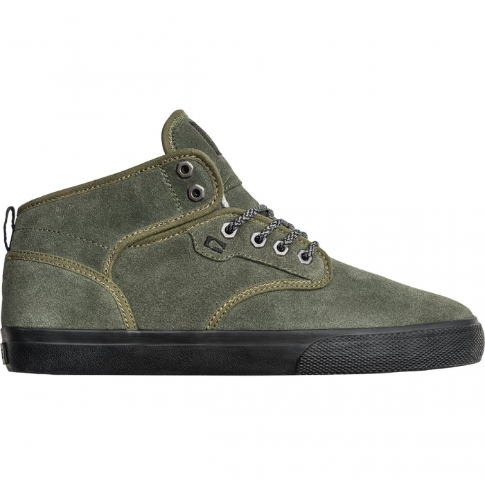 Boty Globe Motley Mid dusty olive/black/winter 2018/19