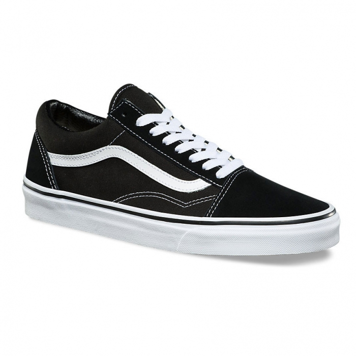 Boty Vans Comfycush Old Skool (Classic) black/true white 2020
