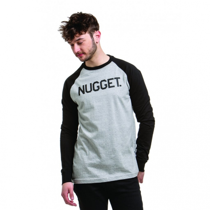 Triko Nugget Algorithm Long Sleeve C heather grey/black 2019