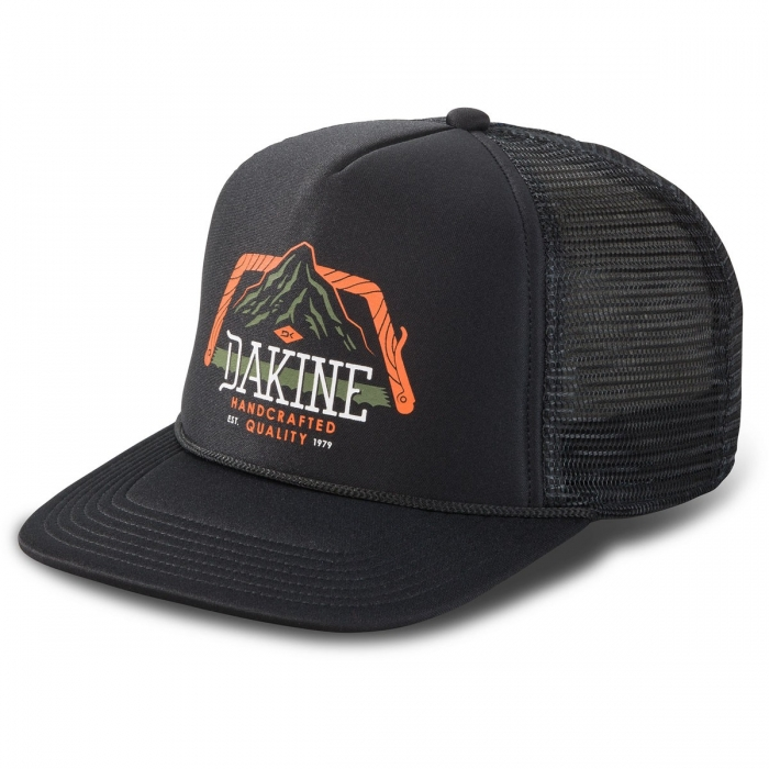 Čepice Dakine Saw Tooth Trucker black 2019