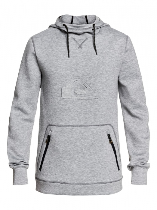 Mikina Quiksilver Freedom - Technical 952 sgrh light grey heather 2019/20