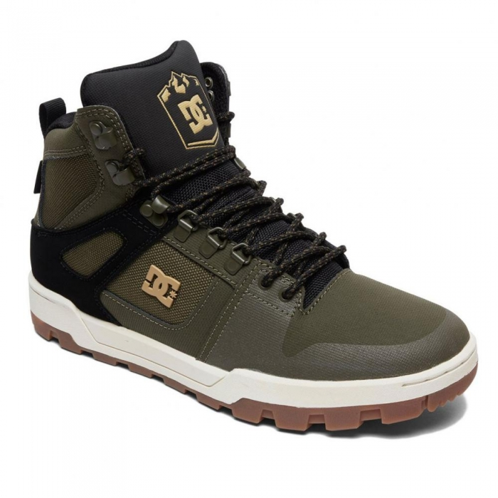 Boty Dc Pure High-Top WR Boot olive/black 2019/20
