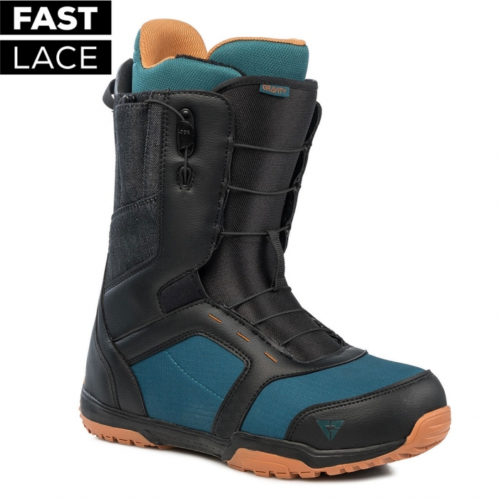 Boty Gravity Recon Fast Lace black/blue/rust 2019/20
