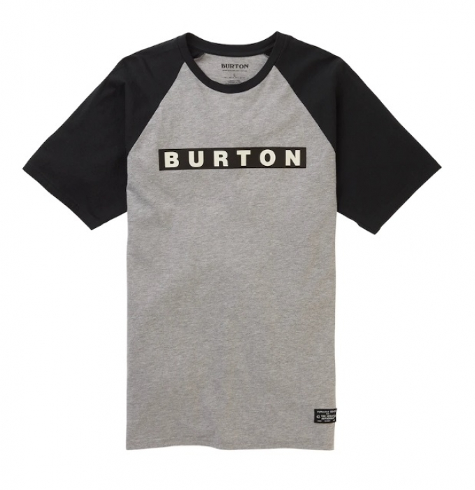 Triko Burton Vault gray heather 2019