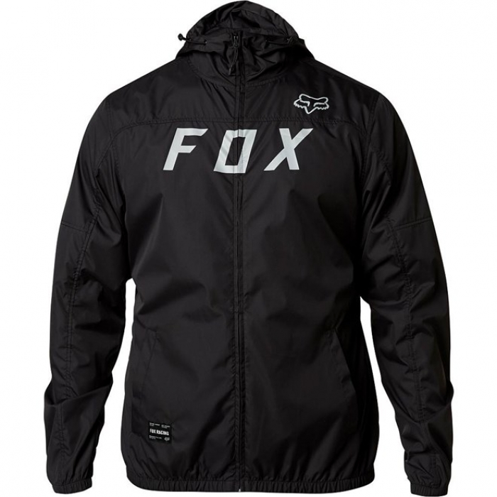 Bunda Fox Moth Windbreaker black/grey 2020
