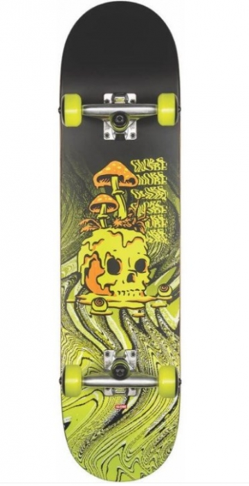 Skate komplet Globe G1 Nature Walk black/toxic yellow 2020