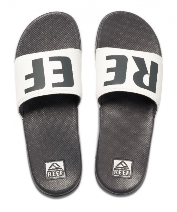 Pantofle Reef One Slide grey/white 2020