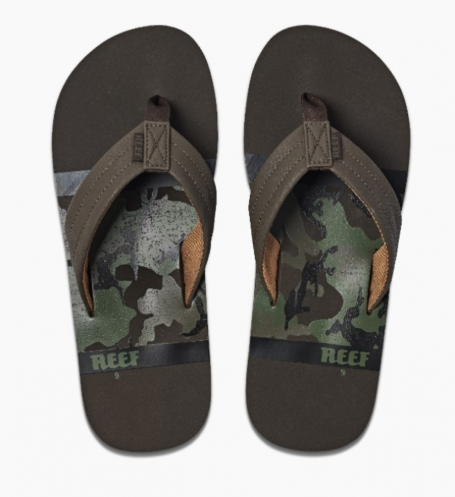 Pantofle Reef Waters brown camo 2020