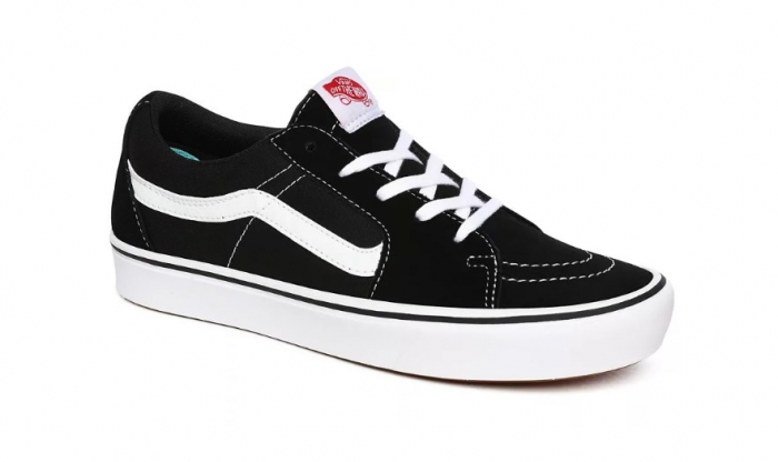 Boty Vans Comfycush Sk8-Low (Classic) black/true white 2020/21
