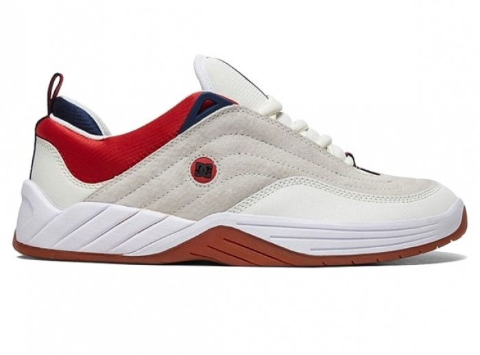 Boty Dc Williams Slim S white/navy/red 2020