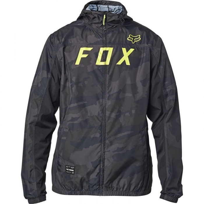 Bunda Fox Moth Camo Windbreaker black camor  2020/21