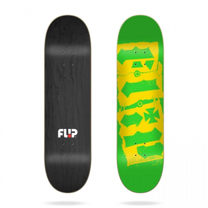 Skate deska Flip Team Destroyer green 8.45 2020/21