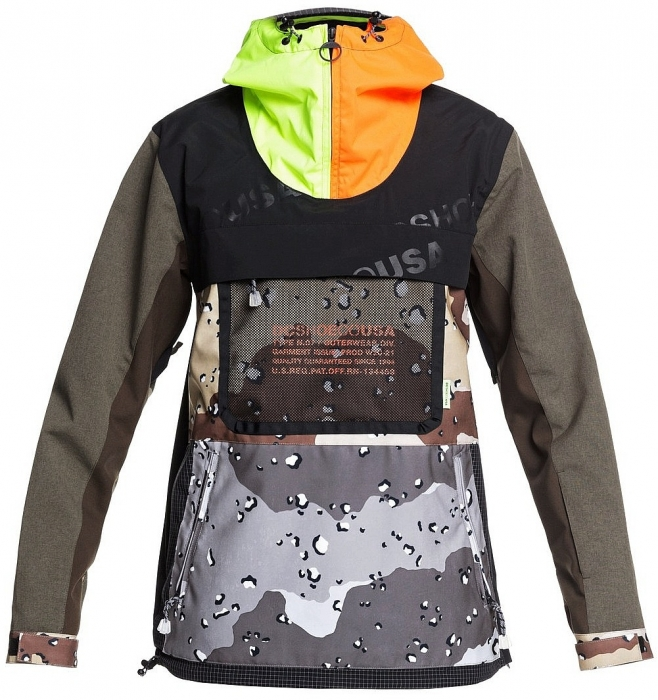 Bunda Dc Asap Anorak 017 xcsw repurpose multi camo/opticool 2020/21