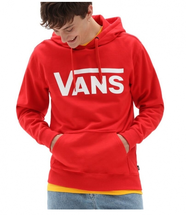 Mikina Vans Classic high risk red 2021