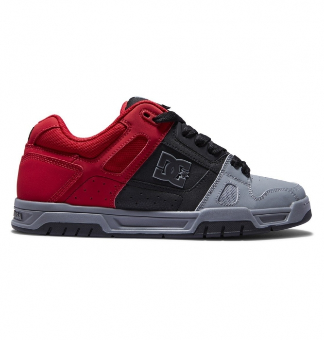 Boty Dc Stag red/black/grey 2021