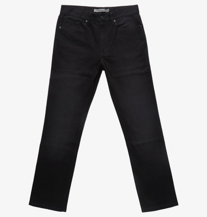 Jeansy Dc Worker Straight Fit 047 kvjw black wash 2021/22