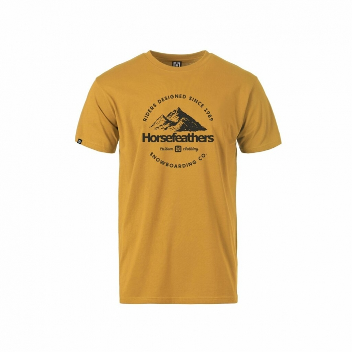 Triko Horsefeathers Hilly spruce yellow 2021/22